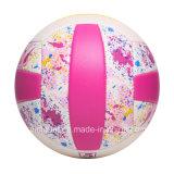 Bola de costura del voleibol de la varia de los colores del precio al por mayor máquina impermeable suave del PVC