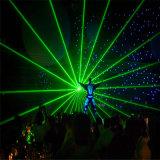 レーザーの人のダンスショーの緑8 Wの段階ライト装置