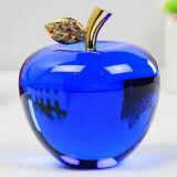 Mestiere di cristallo del Apple di vendita calda per la decorazione domestica