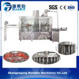 Máquina de rellenar anaranjada del tratamiento del zumo de la botella automática