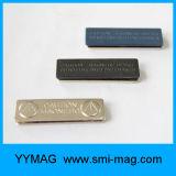 De gepersonaliseerde Magnetische Magneet van de Kentekens van de Naam van het Metaal van Naamplaatjes