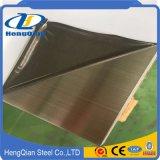 Feuille balayée par délié décoratif de l'acier inoxydable 4X8 de la catégorie comestible AISI 304 avec le prix bleu de PVC