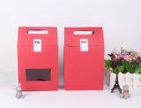 Cmyk ha stampato il sacco di carta del regalo su ordinazione del Kraft