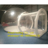 Da barraca inflável da jarda da bolha do PVC barraca de acampamento transparente/barraca da bolha/esfera desobstruídas da bolha
