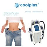 2016 Popular Nova Tecnologia Coolplas Vácuo Cooling Beauty Machine Ice Freezing Grasas Cryolipolysis Reduzir o dispositivo Body Slimming