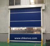Obturador de Rolamento de Alta Velocidade da Tela do PVC para a Fábrica do Alimento