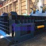 Het In balen verpakken van de Schroot van het Afval van het roestvrij staal Machine (duw-uit baal)