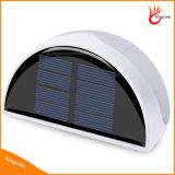 6개의 LED 담 빛 태양 가벼운 옥외 정원 빛을 방수 처리하십시오