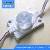 160 módulo posterior de la iluminación LED del anuncio de la iluminación 3W del grado