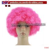 Decoração dos Jogos Olímpicos Party Afro Hair Wig Party Supply (C3017)