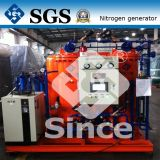 Generador del gas del nitrógeno del PSA con el envase