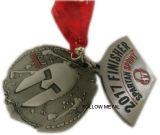 Médaille de récompense pour le module de finition spartiate de Sprint pour le fileur de personne remuante de cadeau