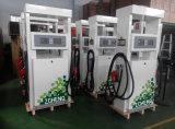Pompa del doppio della stazione di servizio dell'erogatore del combustibile di colore verde di Zcheng
