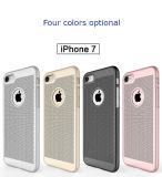 Caso híbrido de moda de PC+Silicone para el iPhone 7