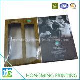 Caixa de empacotamento impressa costume do vinho de papel do cartão
