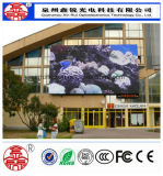 표시판 HD 광고를 위한 P10 옥외 LED 스크린 풀 컬러는 높은 광도를 방수 처리한다