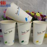 taza de consumición de papel de la taza de café 4oz-20oz