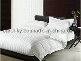Katoenen van 100% Hotel 1cm/2cm/3cm de Gestreepte Dekking van het Dekbed