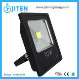 La luz de inundación del LED/la lámpara al aire libre, IP65 impermeabiliza el reflector, viruta de SMD Philips