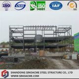 Bâtiment à structure moderne en acier pour la maison de soins