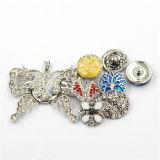 Monili Pendant della collana dello schiocco del Choker della lega di modo antico delle donne