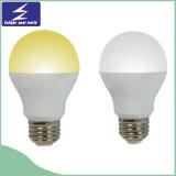 Ampoule chaude d'éclairage LED de la vente A60 E27 SMD2835