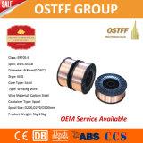 провод заварки MIG газовой защиты СО2 катышкы D270/D300 0.8mm пластичный (G3Si1/SG2)