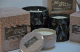 Long Burning Soy Wax High-End Candle in Round Tin