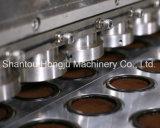 Gran producción de llenado de cápsulas de café y sellado de la máquina