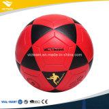 Bekanntmachen rotes des Belüftung-Training lamellierten Fußballs