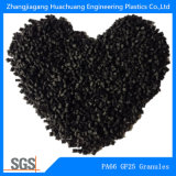 Gránulos de la fibra de vidrio el 25% de la poliamida PA66 para el material de ingeniería