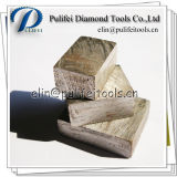 Reso in granito stridente di segmento di taglio della pietra del diamante della Cina concreto
