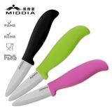 Cuchillo de pelado de la fruta del cuchillo de cerámica de la peladura de la fábrica de China mini
