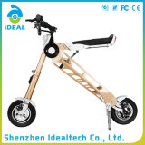 Beweglicher kundenspezifischer Goldelektrischer gefalteter Mobilitäts-Roller