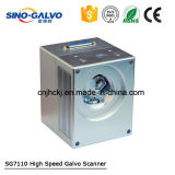 Laser 표하기 장치를 위한 소형 크기 저가 Sg7110 Galvo 스캐너