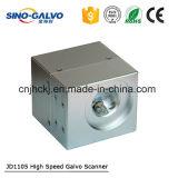 Explorador del laser del Galvo Jd1105 mini para la máquina del fabricante de la insignia