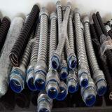 Conducto de acero flexible y apretado líquido
