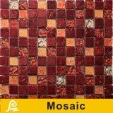 het Mozaïek van het Ontwerp van de Kleur van 8mm voor de Reeks van de Sahara van de Decoratie van de Muur (de de Gouden/Rode Zwarte/Regenboog van de Sahara Brwon/)