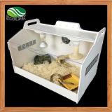 Contenitore trasparente acrilico del Terrarium dei rettili per il serpente del ragno del Chameleon della lucertola o altri rettili & anfibi