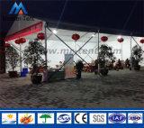 外パフォーマンスのための贅沢なアルミニウムPVC玄関ひさしのテント