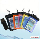 El nadar salpica el bolso/la bolsa/la cubierta impermeables del teléfono para el iPhone 5