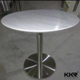Artificial mármore Superfície Sólida Mesa Cadeira mesa de café de jantar