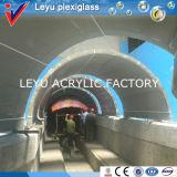 さまざまなラジアンの公共のアクアリウムのアクリルのトンネルの部分