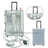 Unità dentale portatile in grande quantità con il trattamento indicatore luminoso e del misuratore