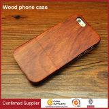 Caisses en bois normales de téléphone de cas en gros de téléphone cellulaire pour l'iPhone 7 positif
