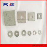 Runde oder quadratische Unterlegscheibe für Maschinen-Schraube