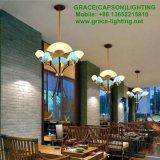 Luces aprobadas del restaurante del nuevo Ce del diseño plegables la lámpara del ventilador (GD-7435-3)