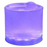 Het Kamperen van de Lantaarn van de Kleur van ZonneMacht 10 LEDs van Portbale Vouwbaar Opblaasbaar Navulbaar Veranderend Licht Zonne Waterdicht OpenluchtLicht