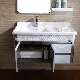 Самомоднейшая тщета ванной комнаты нержавеющей стали 2017 с полкой