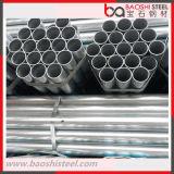 Tube en acier pré-galvanisé à structure structurelle en carbone
